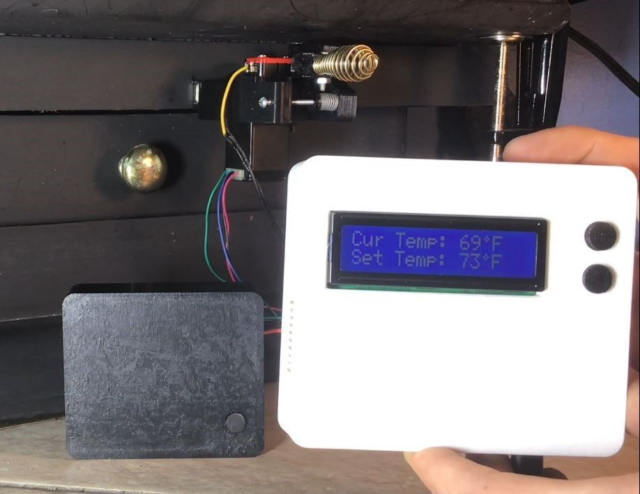 Build This Automatic Thermostat to Control Your Wood Stove