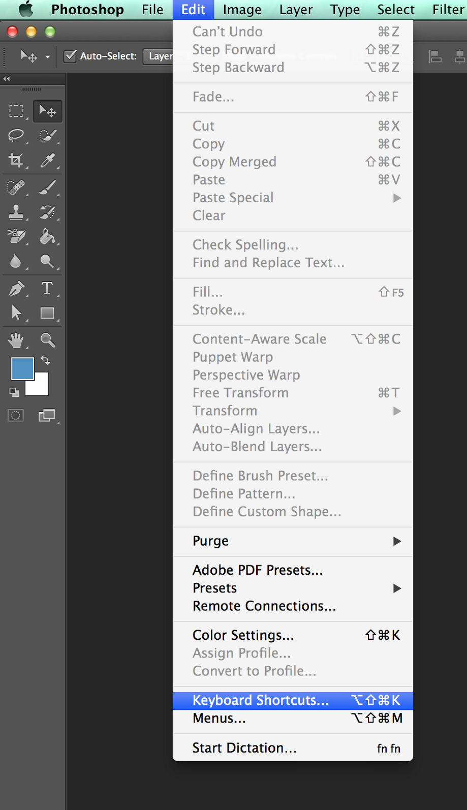 Photoshop Productivity with Scripts, Keyboard Shortcuts and Alfred