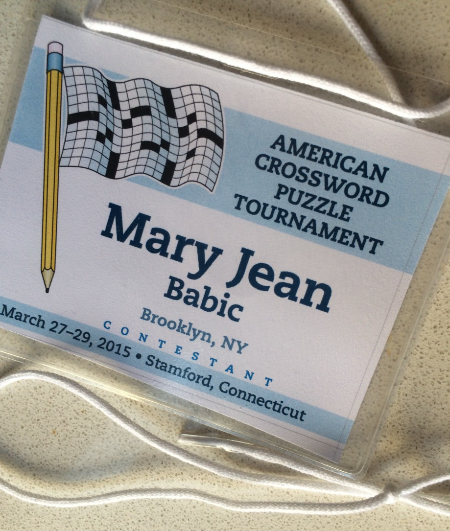 A Rookie at the American Crossword Puzzle Tournament