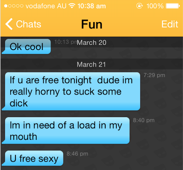 Grindr screenshots hot How to
