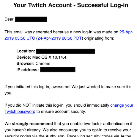 REPORT: Monetization of Compromised Twitch Accounts
