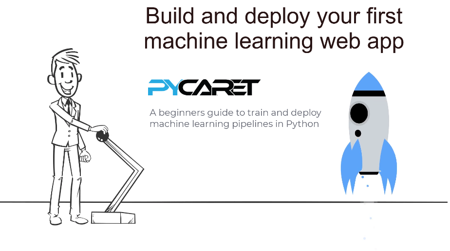 Build and deploy your first machine learning web app