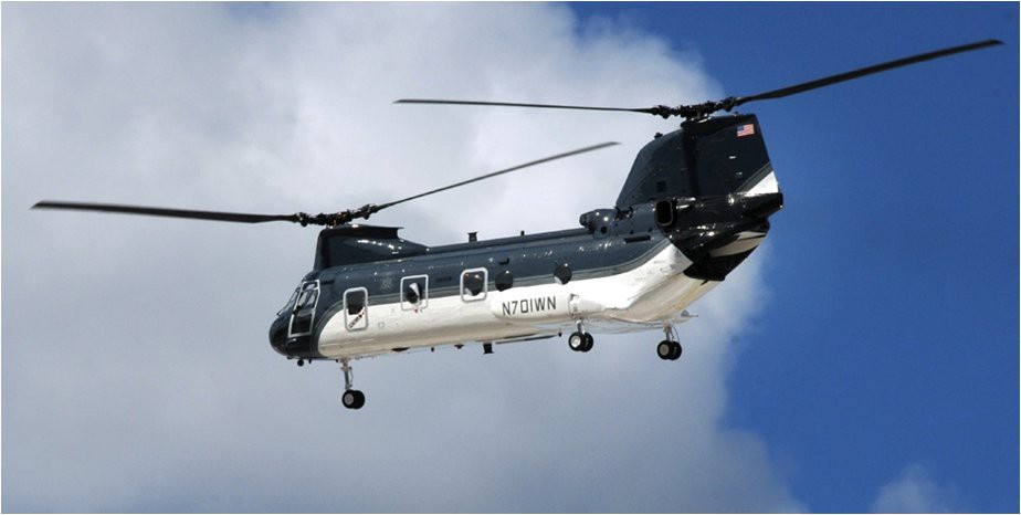 Department of State INL Air Wing CH-46. Air Wing photo
