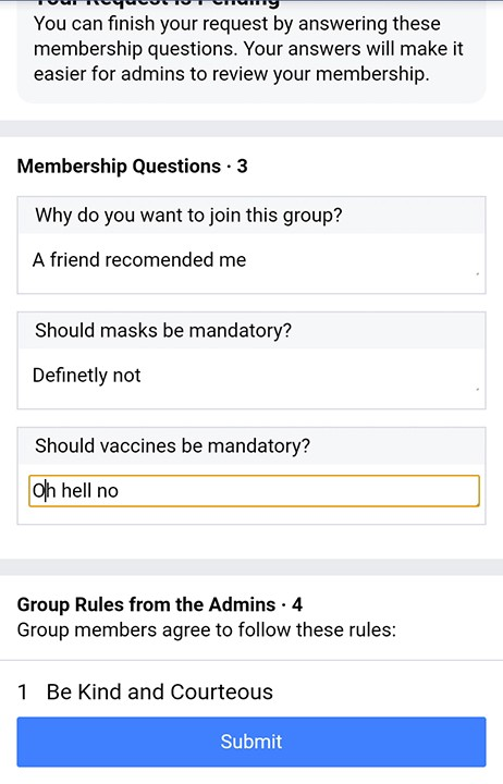 Question 3: Should vaccines be mandatory?
