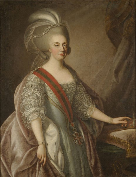 Painting of Maria I of Portugal