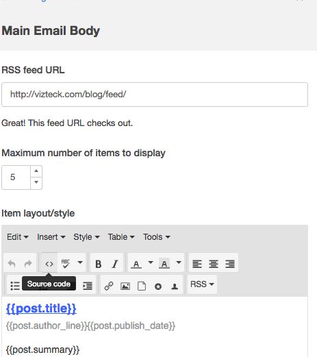 Mautic vs Hubspot — Setting up an RSS update Email — Day 2