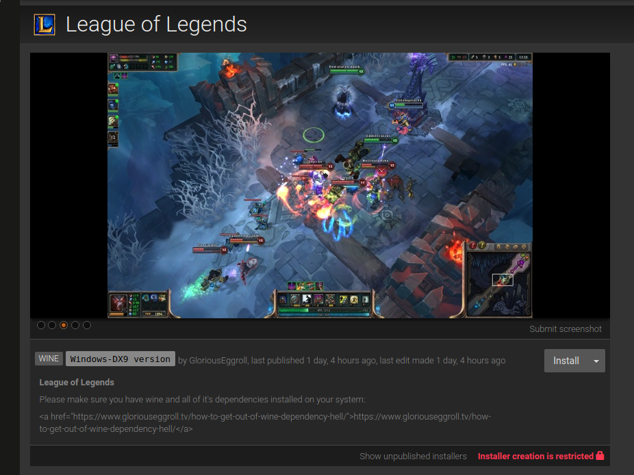 Installing League of Legends on Ubuntu 17 04 - Rishi Goomar