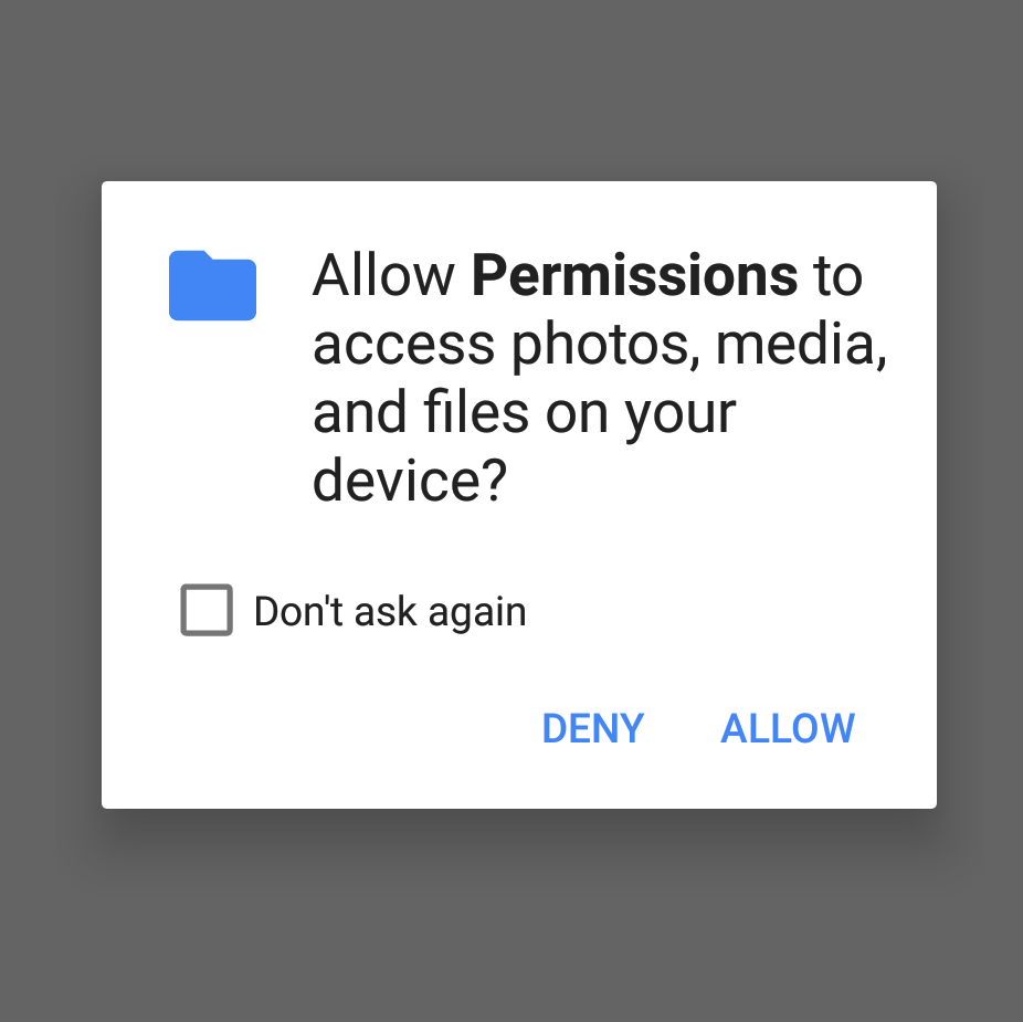 Android Permission Write_External_Storage android permissions for one last time - gursheesh singh - medium