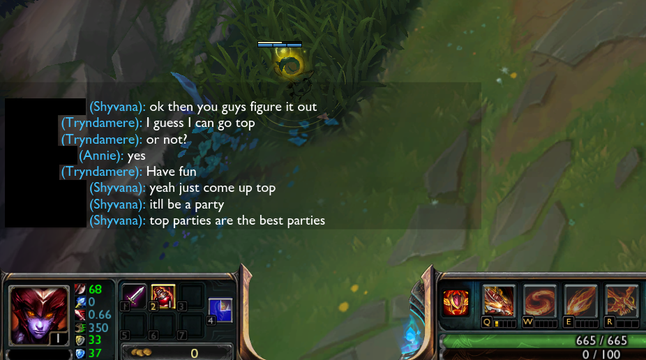 How To Type To All Chat in League of Legends - Bleeping World