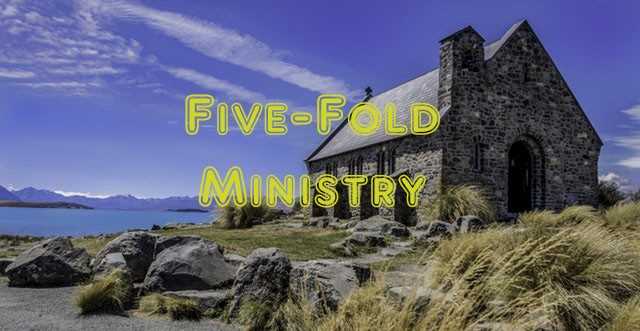 Jesus and his five-fold ministry gifts