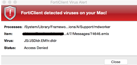 If your Macbook antivirus is giving you too many virus alerts