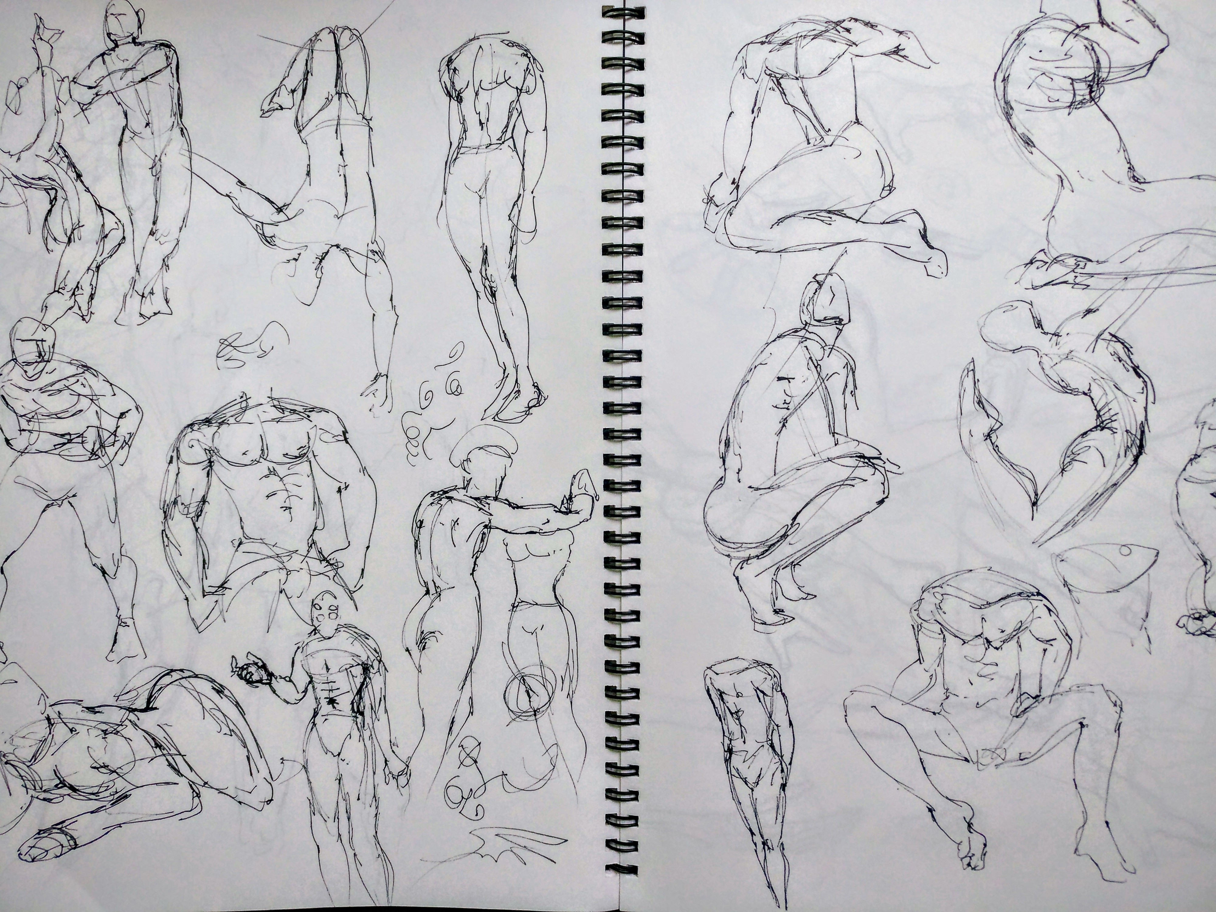 Getting To Know Gesture Drawing Pudgedraws Medium