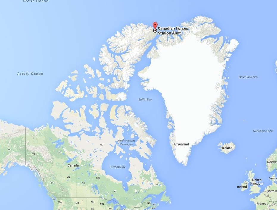 Alert Nunavut Canada On World Map Travel to Alert — CC 130 Hercules | by Josie Shields | Medium