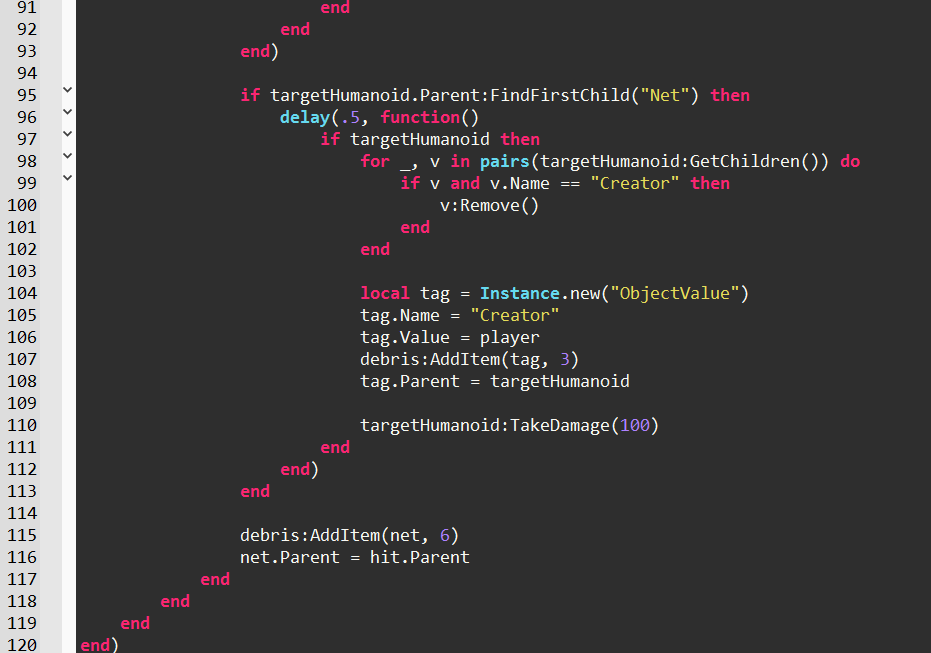 Monokai Syntax Highlighting Color Theme In Roblox Studio By
