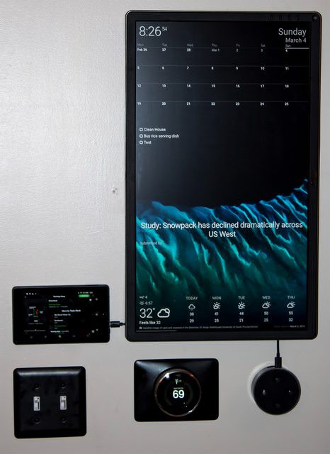 Create a DAKboard to Keep Your Family Organized - Hackster Blog