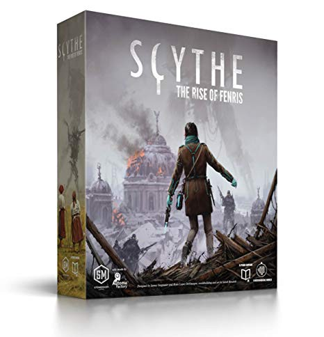 The Rise of Fenris, the conclusion to Scythe's Expansion Trilogy. (Image credit: Stonemaier Games.)
