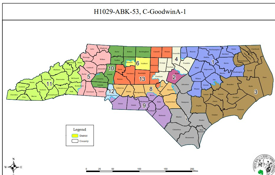 Analyzing the new North Carolina map from a nonpartisan ...