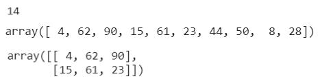 Figure 11: Using NumPy with uniform distributed integers in a given range.