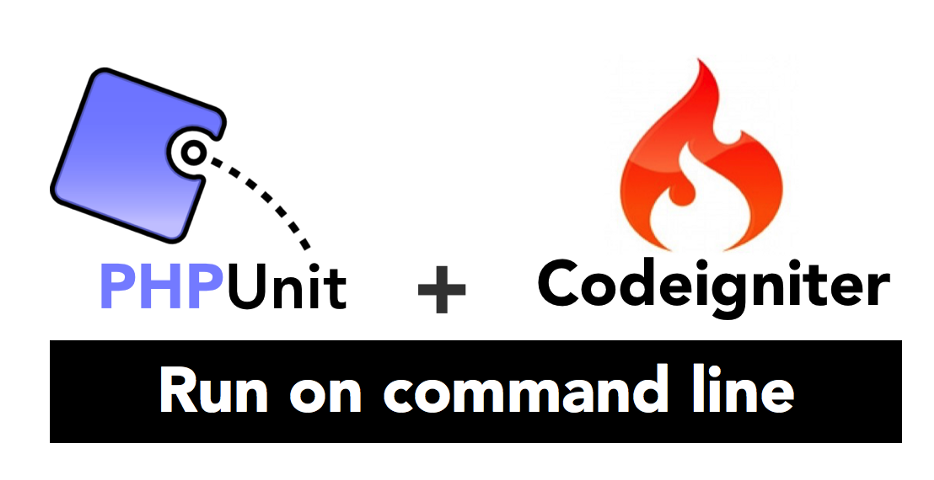 Setup and run unit testing in PHPUnit with Codeigniter using