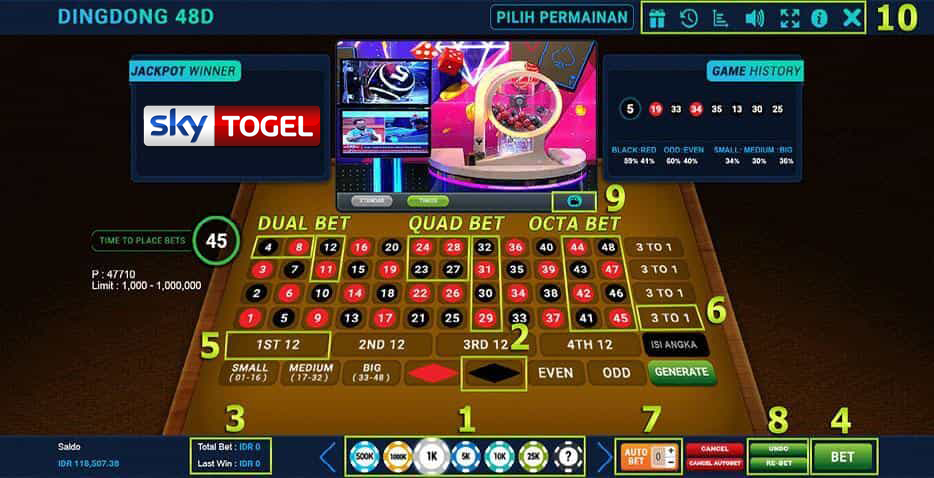 Cara Bermain Live Dingdong 48D - SkyTogel - Medium