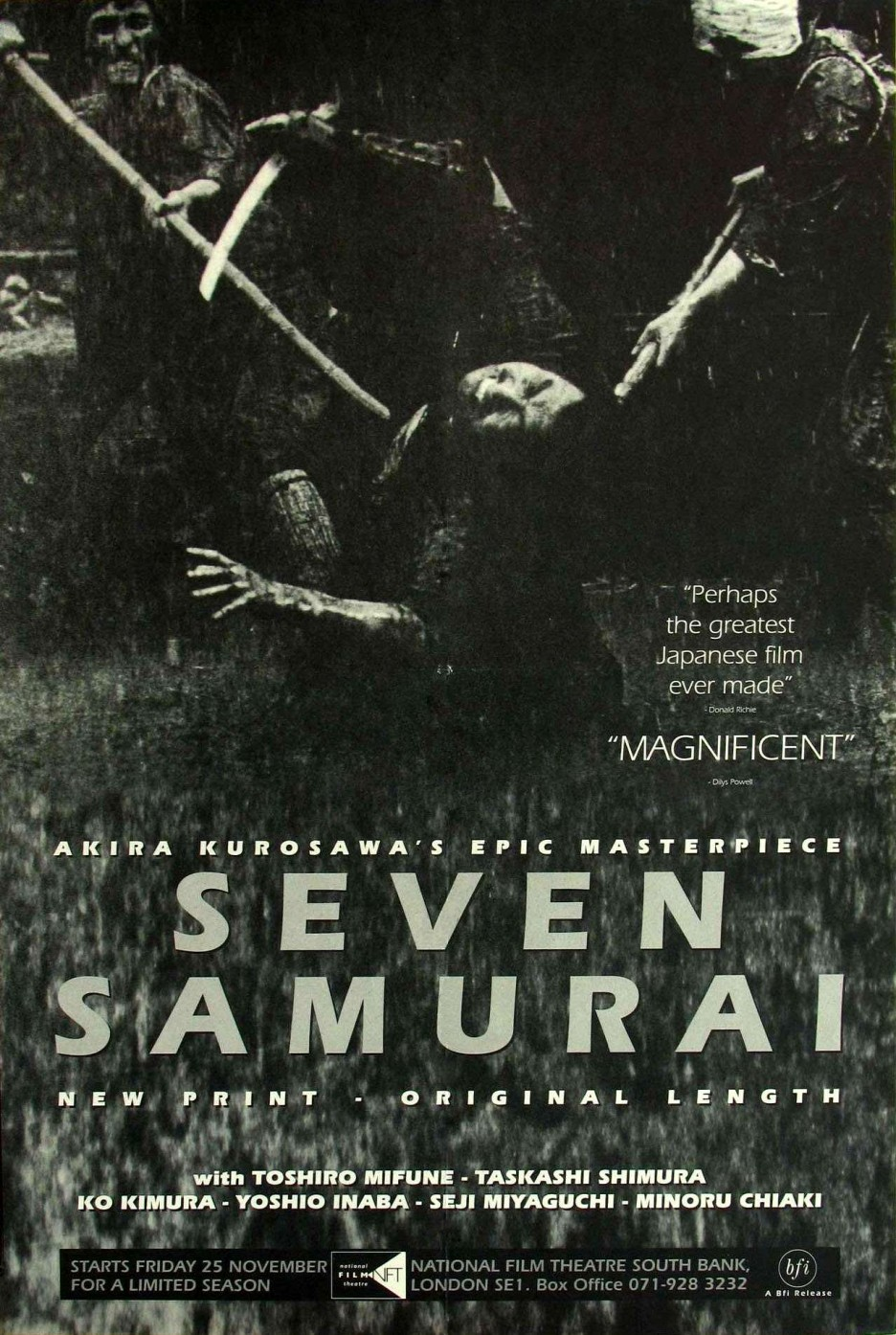 Classic International Movie Seven Samurai By Scott Myers Go Into The Story