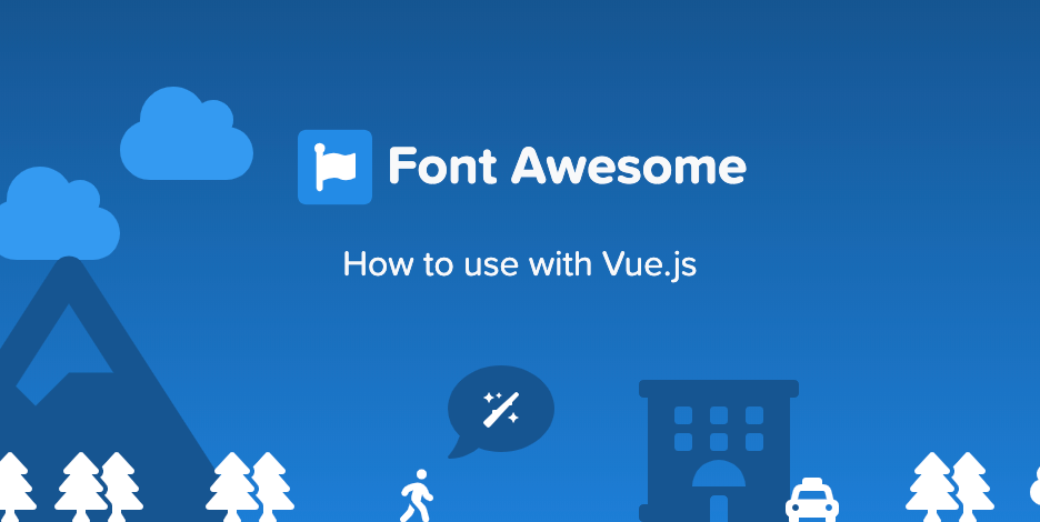 How to use Font Awesome 5 on VueJS Project - Frontend Weekly