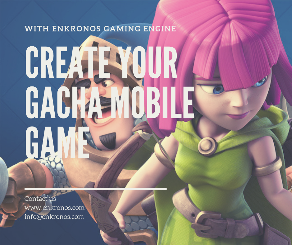 Create your new exciting Gacha Mobile Game with our