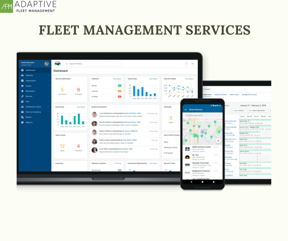 WHAT ARE THE FLEET MANAGEMENT SERVICES?