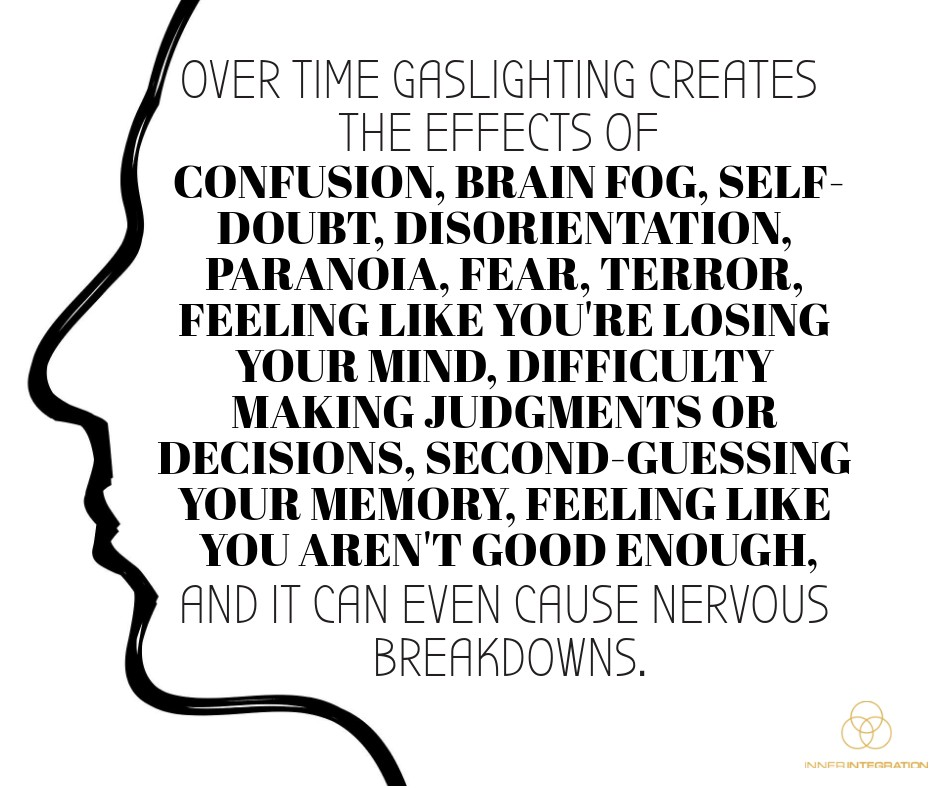 Gaslighting | The Narcissist's Favorite Tool - Inner