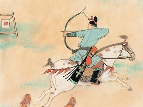 A Chinese archer