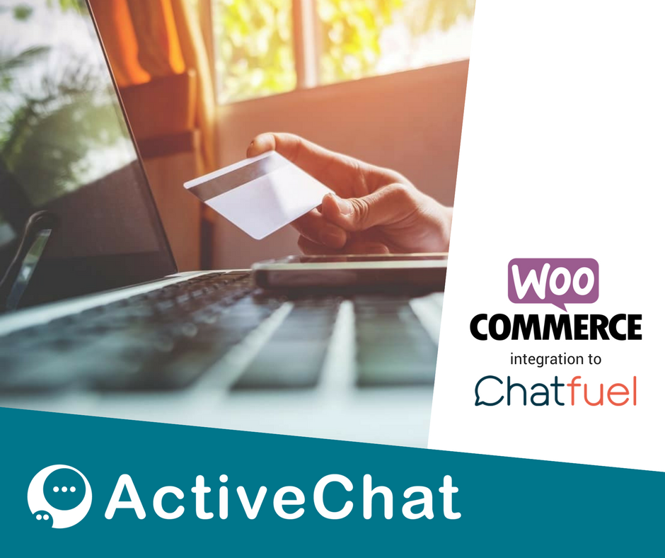 WooCommerce chat bot with Dialogflow and Chatfuel — simple