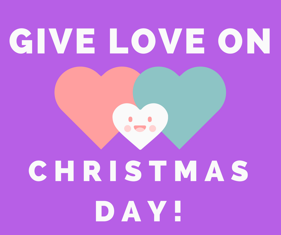 Give Love On Christmas Day.Give Love On Christmas Day Ian Madrid Medium
