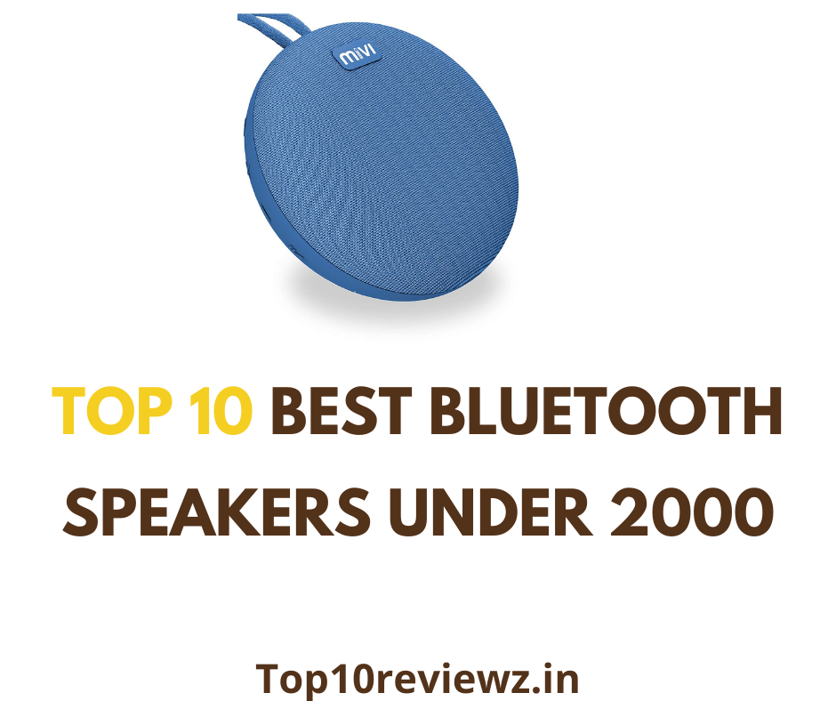 Best Bluetooth Speakers Under 2000 In India 2020 Reviews With Buying Guide By To10previewz Medium