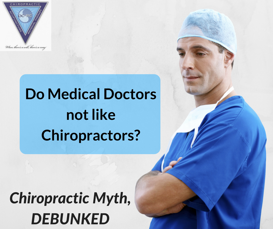 Myth: Medical doctors do not like ...