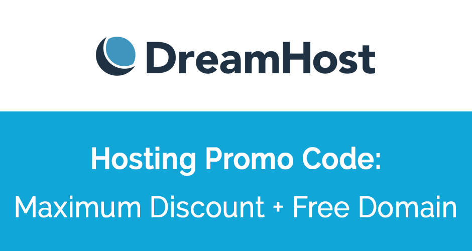 DreamHost Coupon Code — 70% Off + FREE Domain