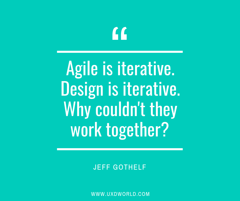 Agile Design Process Agile Is Iterative Design Is By Saadia Minhas Ux Collective