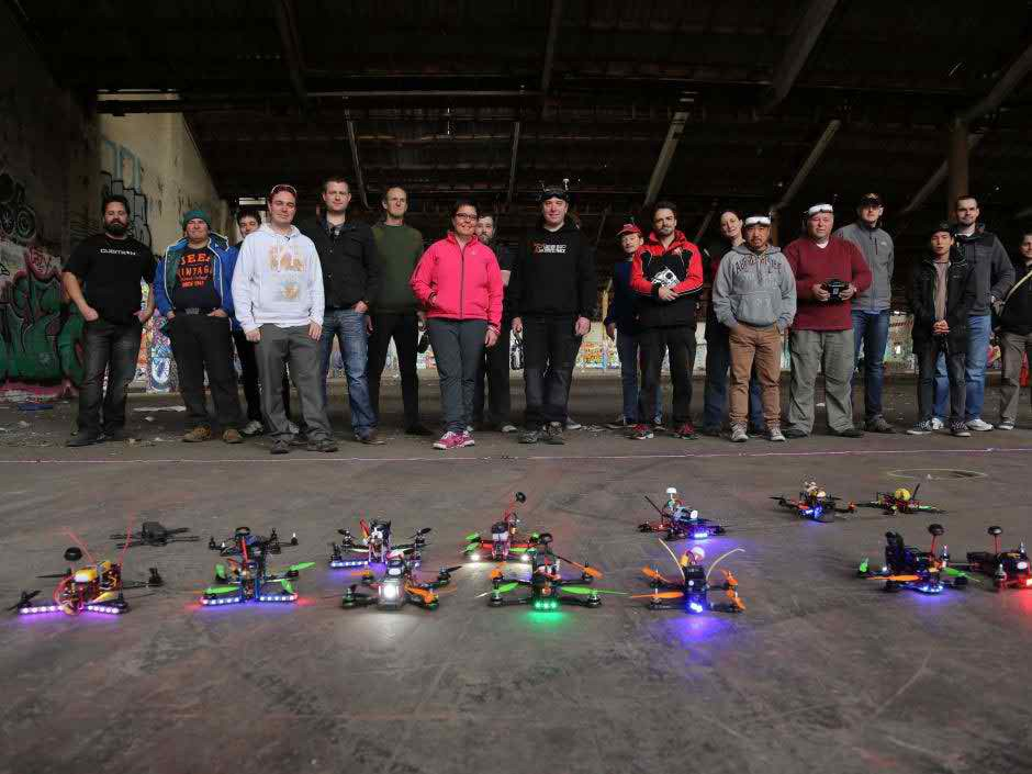 Drone Racing Sports