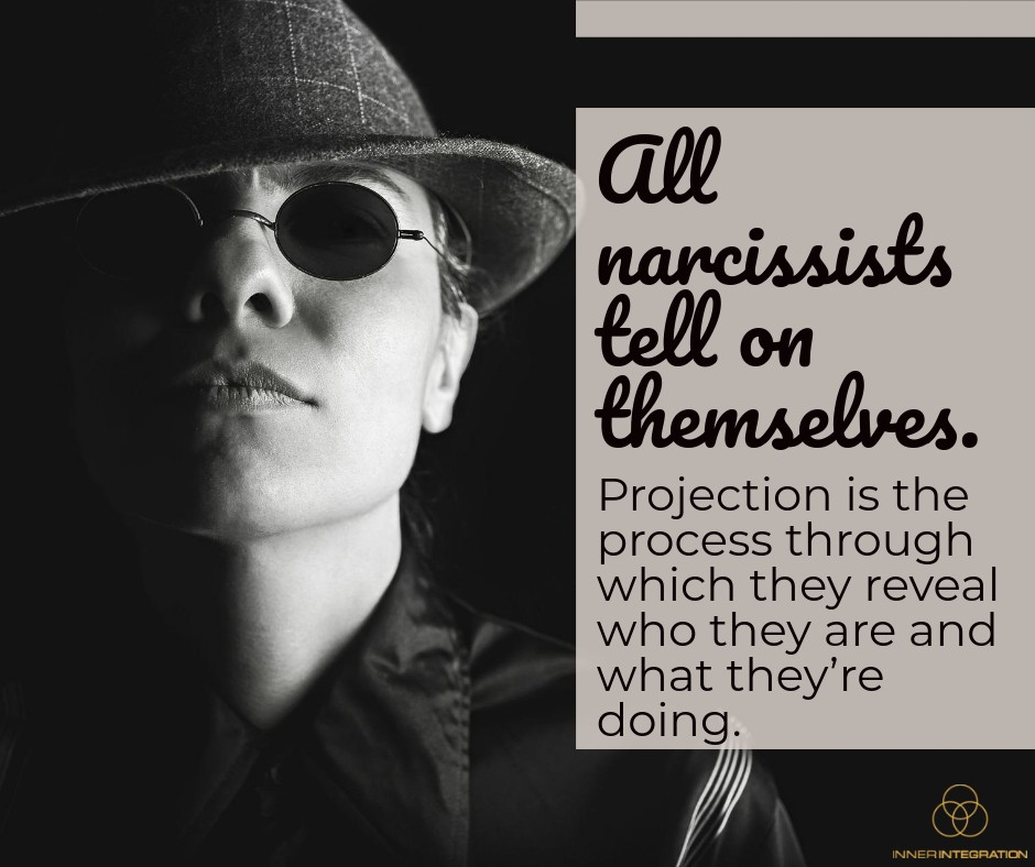 Projection (The Narcissists' Weapon that Can Be Used Against