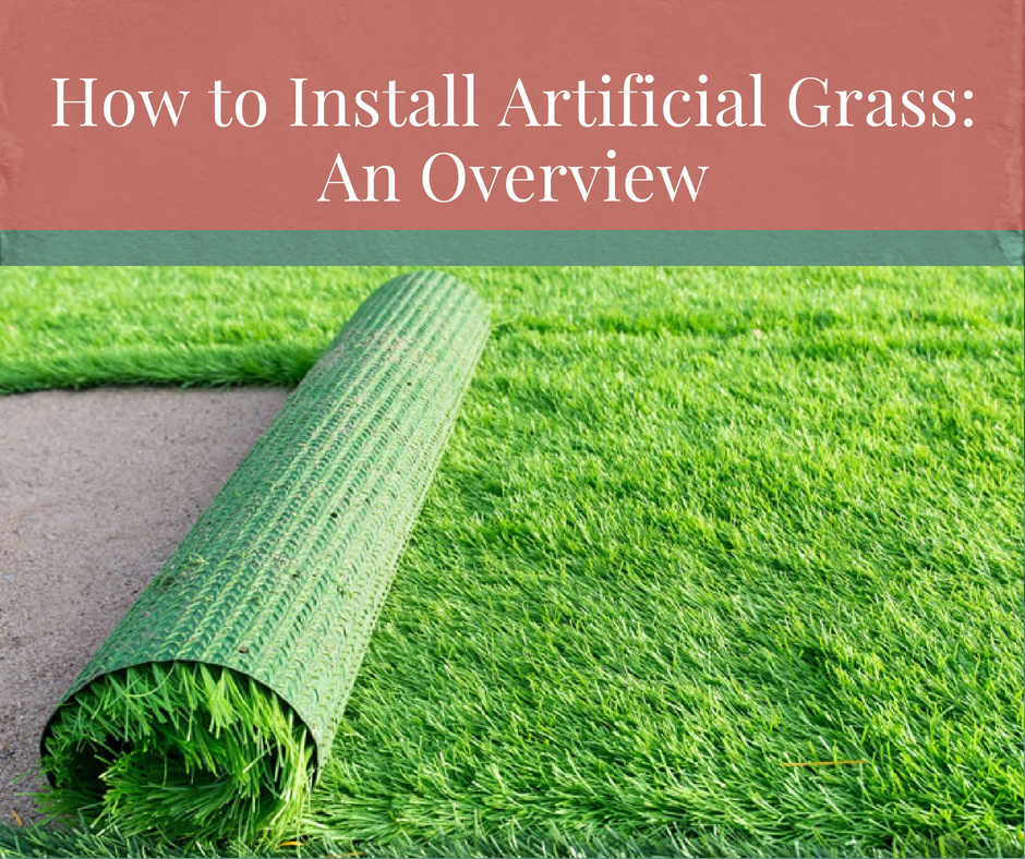 How To Install Artificial Gr An Overview Edengr India