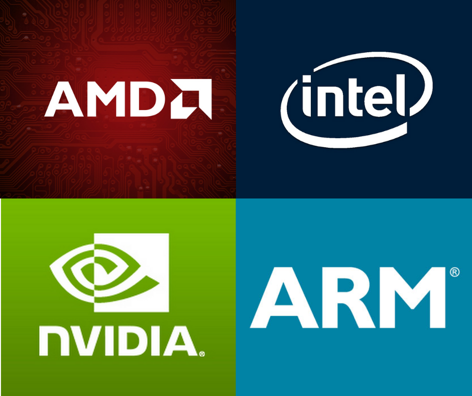 AMD, Intel, Arm, and NVIDIA Put Their Chips on the Table at