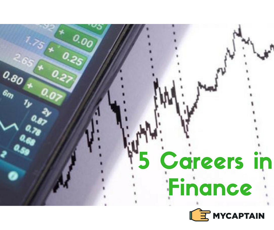 5 Careers in Finance you should know about! - The Climber