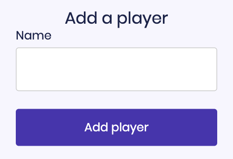 How to add a Player in your Lockeroom account