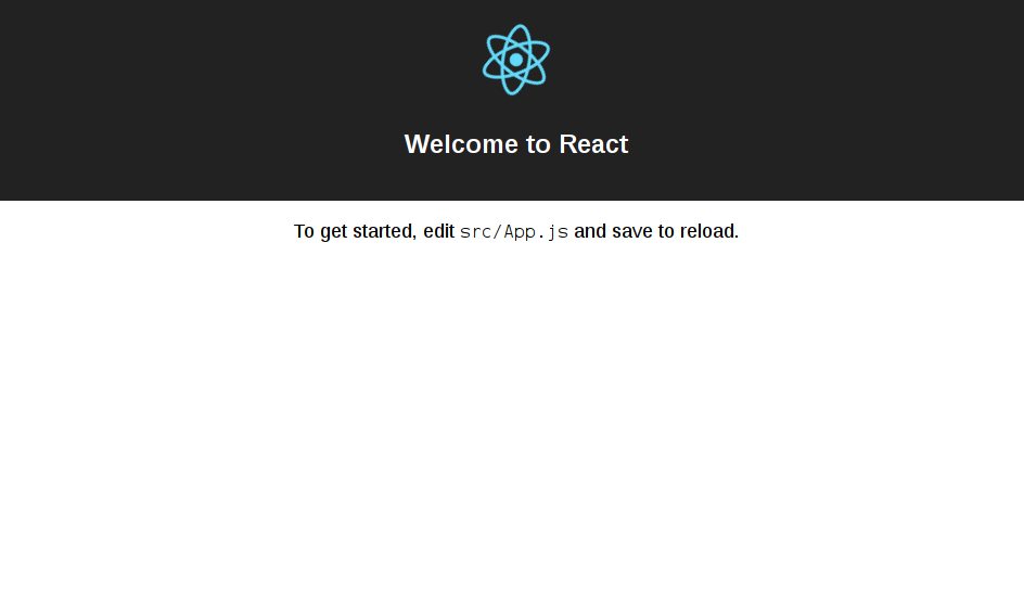 Installing ReactJS and creating your first application