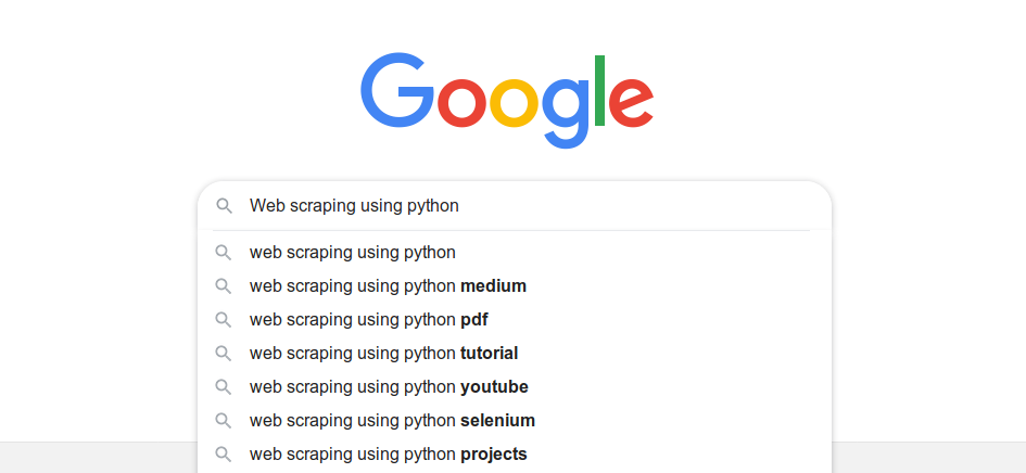 Here's how you can scrape Google search results with Python! | by Ajay  Panthagani | Medium