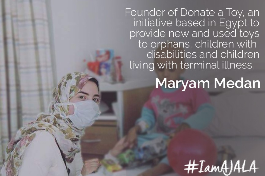 A Changemaker from Egypt — Maryam Medan — Spreading love and hope to
