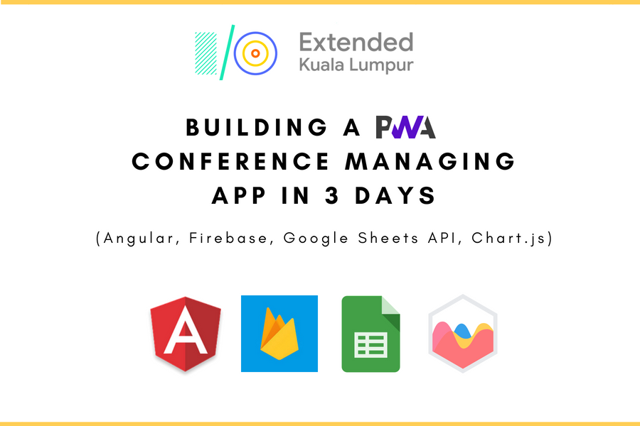 Building a PWA Conference Management App in 3 days [Part 1/2]