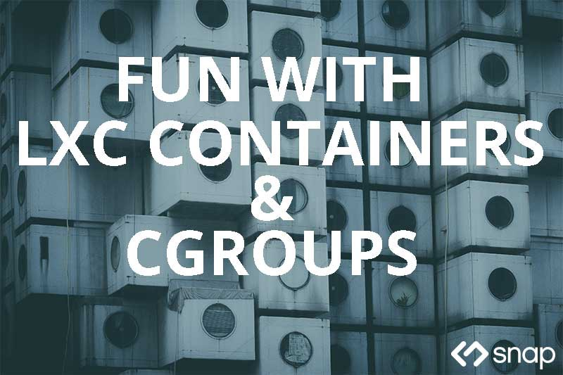 Using LXD and cgroups - Continuous Delivery - Medium