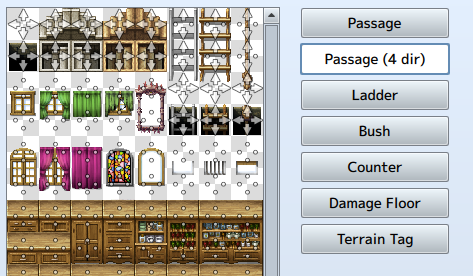 Bot's Guide to Custom Art in RPGmaker MV: Making Tilesets