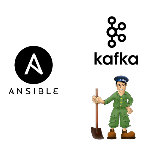 Ansible playbooks for Kafka and Zookeeper - Insight Fellows Program