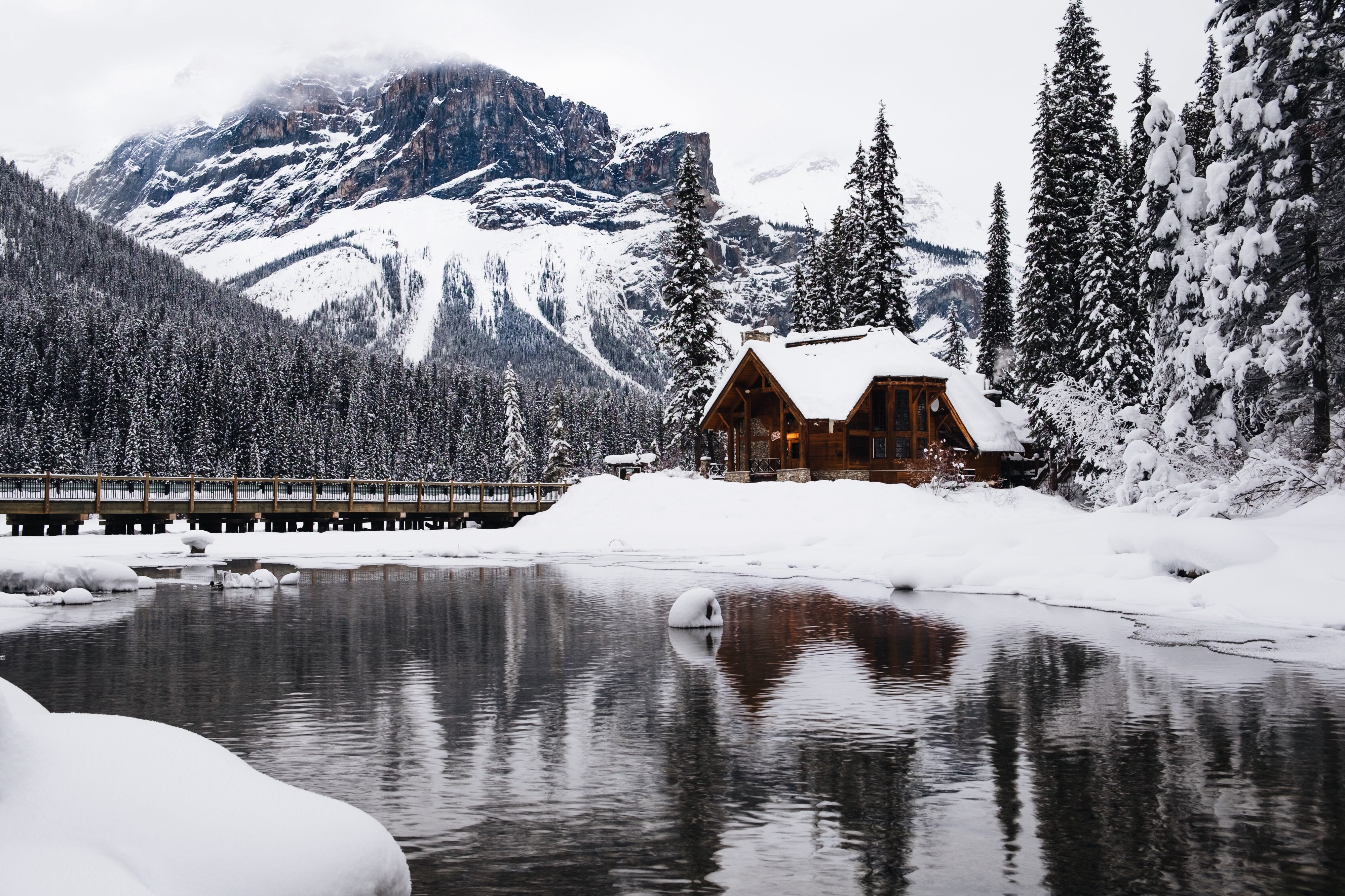 Stopping By A Snowy Mountain House On A Quiet Evening By Tom Belskie Tom Thoughts Medium